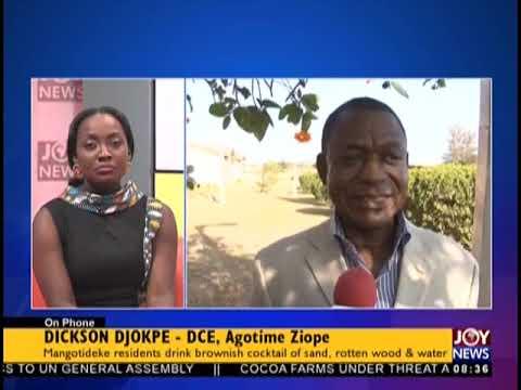 Mangotideke Crisis - AM Show on JoyNews (27-9-18)