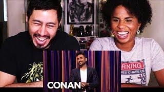 VIR DAS STAND UP ON CONAN | Reaction w/ Cortney!