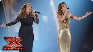 Sam Bailey sings And I'm Telling You with Nicole Scherzinger - Live Week 10 - The X Factor 2013