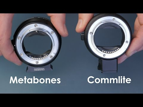 Metabones vs Commlite Canon Lens to Sony Body Adapter