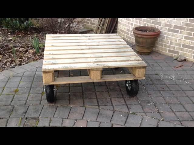 Homemade-garden-cart