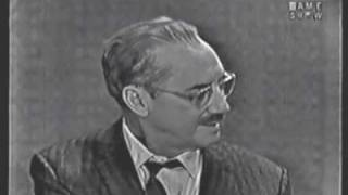 Download Video What's My Line: Groucho Steals the Show MP3 3GP MP4