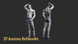07 AnatomyRefinement - Male Torso