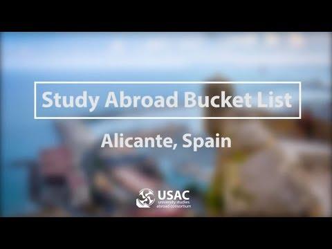 Alicante Bucket List