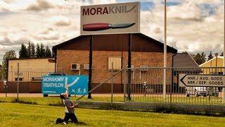 Экскурсия по фабрике Morakniv в Швеции | DBK на русском | Перевод Zёбры