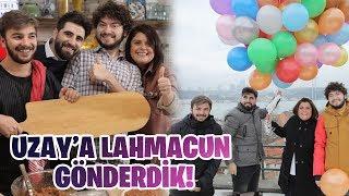 UZAYA LAHMACUN GÖNDERDİK ! w/ REFİKA