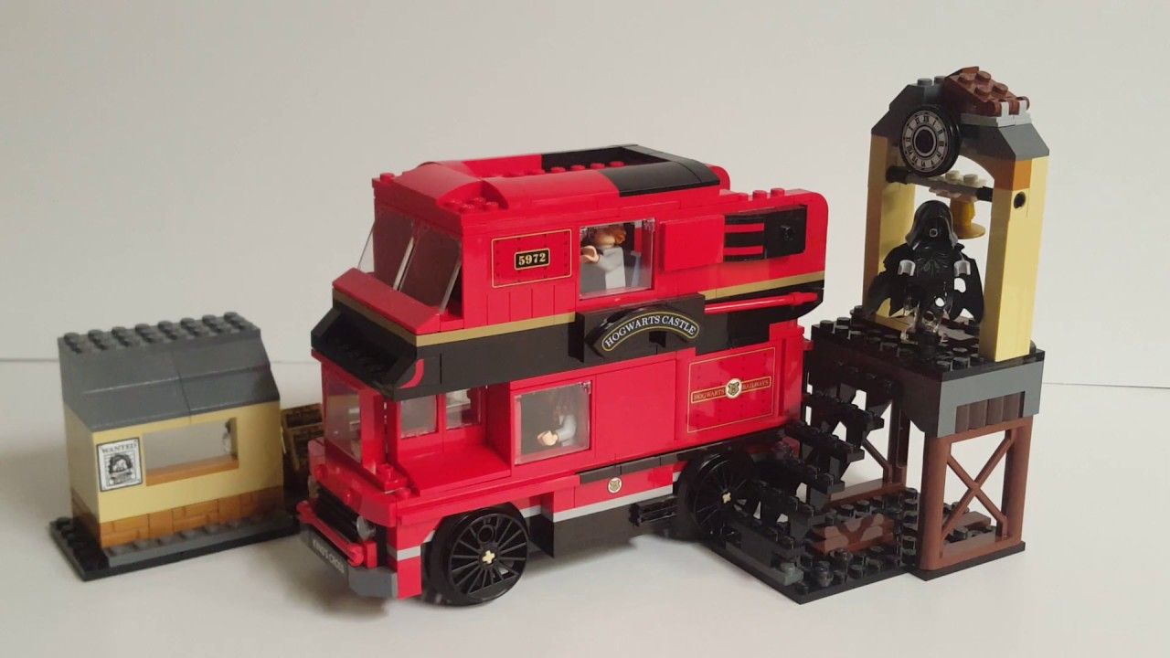 LEGO Harry Potter 75955 Alternative Build Review: The Magic School Bus!