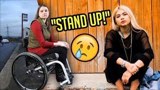 Hayley Kiyoko Tells Disabled Fan's To STAND UP?!!