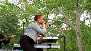 Chrisette Michele, Epiphany & What You Do, Central Park Summerstage, NYC 8-21-10