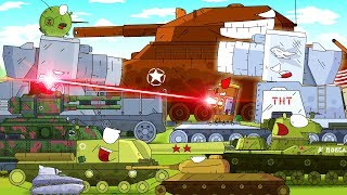 TOP 7 mini series - Cartoons about tanks