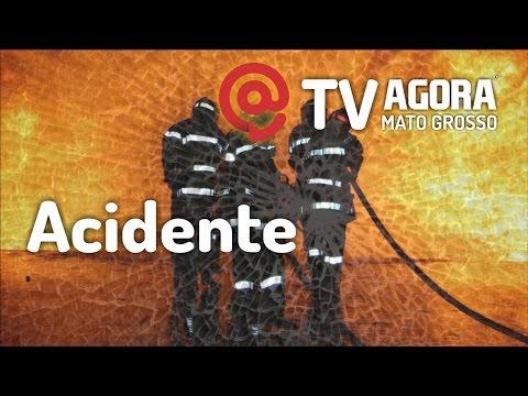 TRÁGICO: MOTORISTA MORRE APÓS SER ESMAGADO POR CARRETAS NO VIADUTO DA BR-364 – VÍDEO