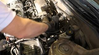 How to replace install new air intake hose 1997 99 toyota camry air filter console and intake hose replace toyota corolla fandeluxe Choice Image