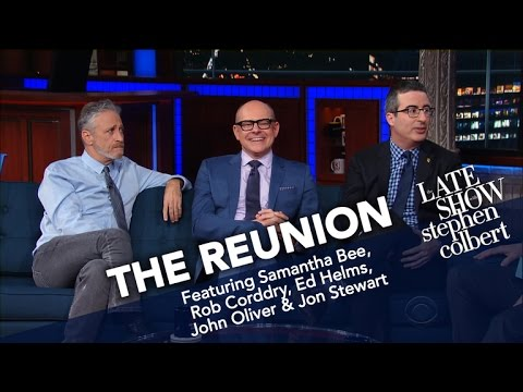 The Reunion: Jon Stewart And The Correspondents (Part Two)