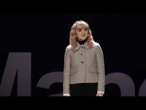 Don't strive to be famous, strive to be talented | Maisie Williams | TEDxManchester