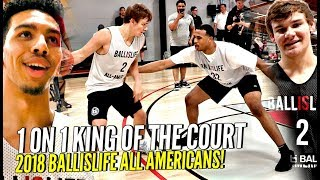 Ballislife 1 on 1 King of The Court!! 🔥🔥 Mac McClung, Nassir Little, Jules B GET SAUCY!! +More!