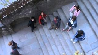 preview picture of video 'Mont St.  Michel: il ritorno della confraternita...(Francia estate 2014)'