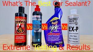 The Best Car Paint Sealant?(Traditional) Wolfgang DeepGloss, Meguiars NXT, PowerLock, Poorboy's EX-P