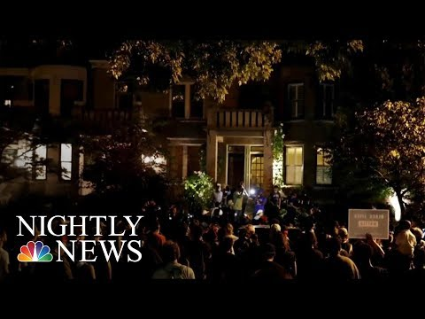 Police Officers Injured, Protesters Arrested In St. Louis Protests | NBC Nightly News