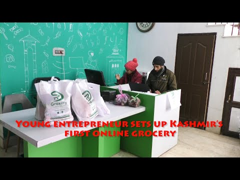Young entrepreneur sets up Kashmir's first online grocery