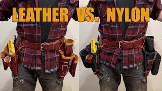 Occidental Tool Belt Review - Leather Vs. Nylon