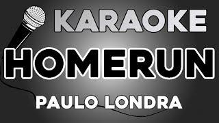 Paulo Londra   Homerun KARAOKE