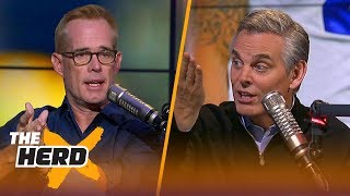 Joe Buck strongly disagrees with Colin about Dak, Talks Aaron Rodgers and more | NFL | THE HERD