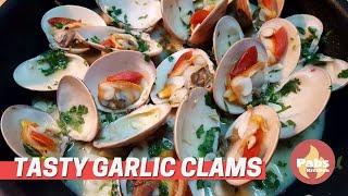 Garlic Clams 🐚🍜
