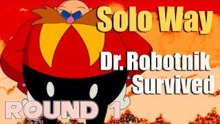 Sonic.Exe: The Spirits Of Hell (Round 1) - Dr. Robotnik Solo Survivor - Walkthrough - Fan Game