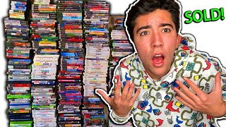 Selling OVER $10,000 Worth of Games to Gamestop 😭