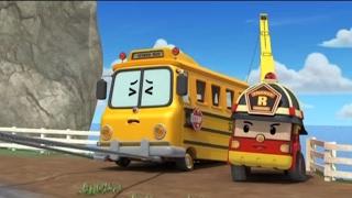 Робокар Поли - Приключение друзей - Поспешишь всех насмешишь (мультфильм 7) Познавательные мультики