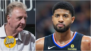 The belief is Paul George was calling out Larry Bird – Brian Windhorst | The Jump