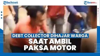 Viral Debt Collector Dihajar Massa saat Ambil Paksa Motor Warga, 3 Motor Mereka Dibuang ke Sungai