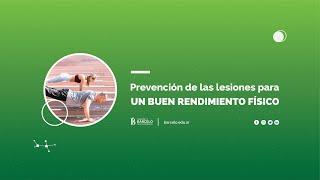 Prevención de lesiones para un buen rendimiento físico