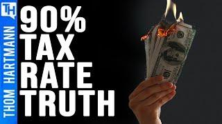 Bring On Top 90% Tax Bracket (Debate w/Libertarian Charles Sauer)