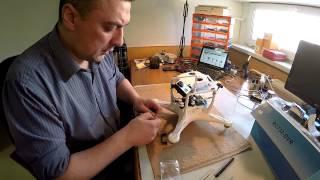 Видео инструкция по сборке комплекта Phantom 2+Zenmuse H3-3D+FPV
