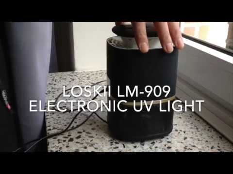 Loskii LM-909 Electronic UV Light Lamp