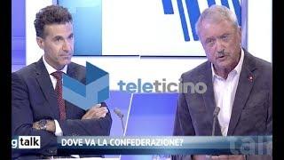 Del Valle à Teleticino parla del ´Complesso occidentale' con l'ex capo dei servizi segreti s