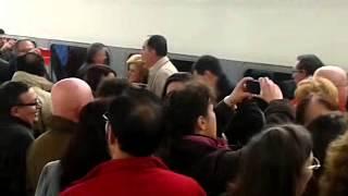 preview picture of video 'Villanueva de cordoba,llegada del primer AVE'