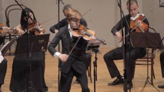 Mendelssohn-  Violin concerto in D minor  - Zagreb soloists Yury Revich