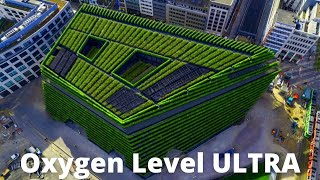 Growing Forest on Buildings