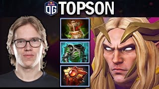 OG.TOPSON INVOKER - BEST QUAS-WEX PLAYER - DOTA 2 7.24 GAMEPLAY