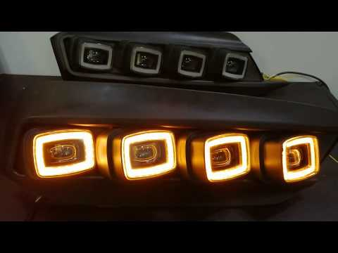 Honda Civic Bugatti Style DRL Fog Lamp