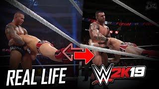 WWE 2K19 vs Real Life Comparison! (Daniel Bryan 2K Showcase)
