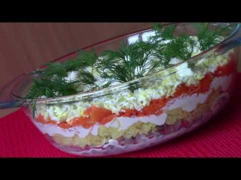 Салат ЛИСЬЯ ШУБКА/ Вкусный,Яркий и Бюджетный салат,САЛАТ С СЕЛЕДКОЙ