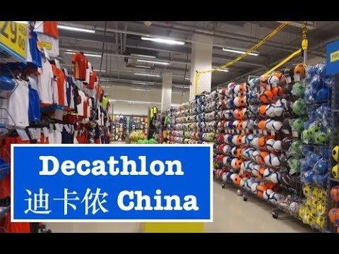 , title : 'A Look Inside Decathlon in China | Buying Sports Equipment in China