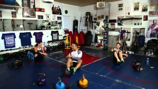 6. Kettlebell workout • Abs by ChiChiHealthFitness