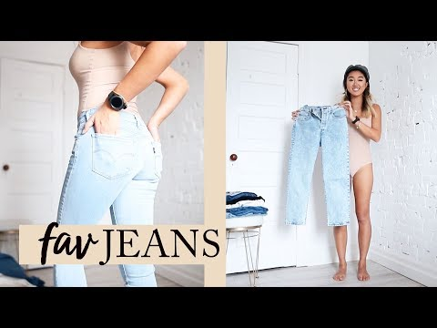 BEST JEANS COLLECTION: Try On | Levis, J Brand, Paige