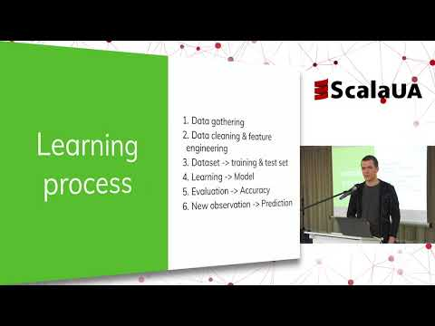 Machine learning by example. ScalaUA2018