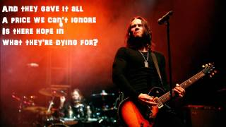 One by One by Alter Bridge Lyrics