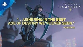 Destiny 2: Forsaken – Accolades Trailer | PS4
